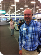Best Buy General Manager George Cunningham