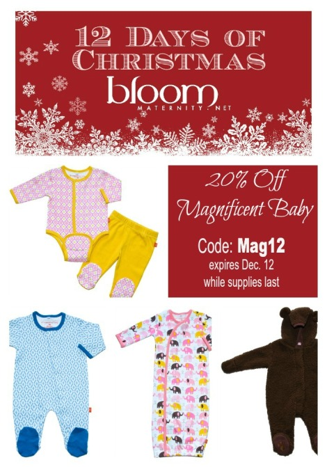 Day 5 - 12 Days of Christmas: Magnificent Baby 20% Off
