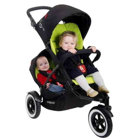 phil&teds Dot Apple Inline Stroller | @bloomMaternity